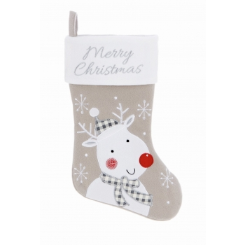 Jõulusokk Merry Christmas 45cm