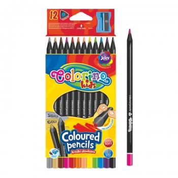 Värvipliiatsid Colorino 12tk+ teritaja