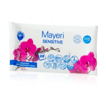 Univ.puhastuslapid Mayeri Sensitive 28tk