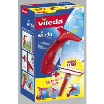 Aknakuivataja Vileda Windomatic + spray