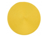 Lauamatt Altom 38cm ümmargune kollane
