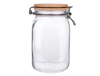Klaaspurk 1,5L musta klambriga