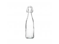 Klaaspudel 500ml  klamberkorgiga klaar