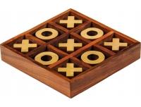 Lauamäng Trips-traps-trull 9x9x3cm puit