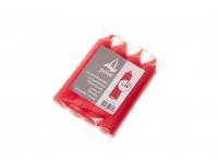 Lühtriküünal Ø20x115mm 3-5h 4tk  punane