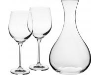 Karahvin + veiniklaasid 2tk Krosno