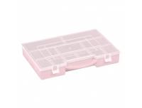 Karp lahtritega 27,5x20,6x4,2cm roosa