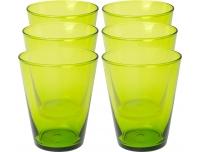 Joogiklaasid Bormioli 300ml 6tk roheline