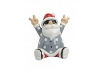 Jõuluvana keraamiline istuv 15x14x15cm