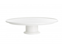Koogialus Ø31cm keraamiline valge