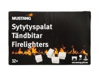 Süütetablett Mustang 32tk 300g valged