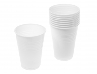 Joogitops Saana 200ml 50tk plast valge