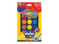 Vesivärvid Colorino Kids 18värvi
