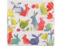 Salvrätikud 33x33cm 20tk Ambiente Easter