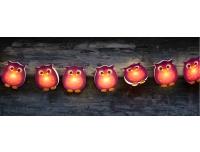 Valguskett Öökullid 10LED patareitoitega