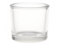 Teeküünlahoidik Miko Ø9x8cm klaasist