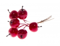 Dekoratsioon Punased õunad 2cm