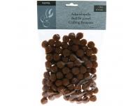 Käsitööpallid 15mm 130tk pehmed pruun
