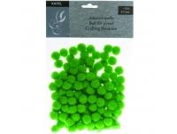 Käsitööpallid 15mm 130tk pehmed roheline