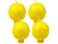 Küünal Polar pall jalaga12,5h4tk kollane