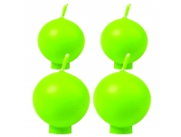 Küünal Polar Pall jalaga 12,5h roheline