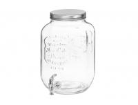 Joogimahuti Purk 8L kraaniga klaas