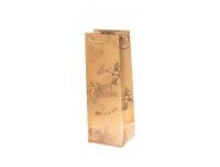 Kinkekott pudelile 12x35cm Jõulud