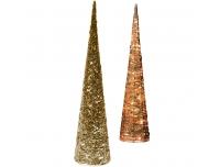 Valgusdekoratsioon püramiid 32LED kuld