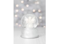 Jõulukaunistus klaaskuulis ingel LED