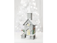 Dekoratsioon kirik 46cm LED