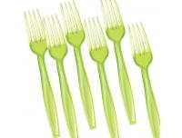 Plastkahvel Saana 10tk roheline