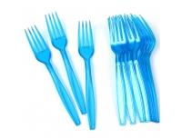 Plastkahvel Saana 10tk sinine