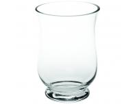 Küünlavaas 17,5x12,5x25cm klaasist