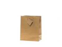 Kinkekott 18x23cm kuldne