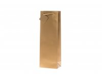 Kinkekott pudelile 12x36cm kuldne