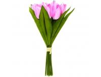Kunstlill Tulbikimp 27cm roosa