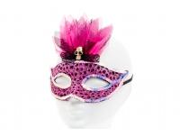 Mask leopardimustriline roosa