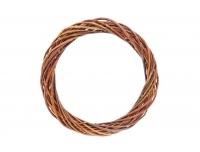 Pärg pajust 25cm pruun