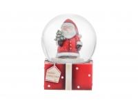 Klaaskuul Jõuluvana 7x7x8.5cm