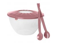 Plastkauss  tarvikutega roosa