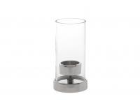 Teeküünlahoidik Syli 15 cm metall/klaas