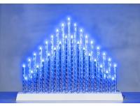 Valgusdekoratsioon Pihla 33LED sinine