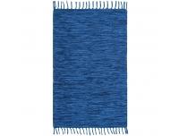 Vaip Jerry 80x150cm puuvillane sinine
