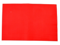 Lauaplate Hampton 45x30cm PVC punane