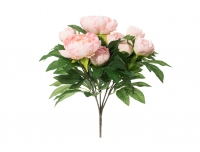 Kunstlill Pojengikimp 50cm roosa