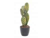 Kunstlill Kaktus 8,5x8,5x19,5cm potis