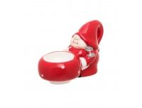 Teeküünlahoidik Santas Wife keraamiline