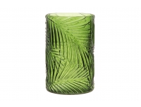 Vaas 23,5cm klaasist leheroheline