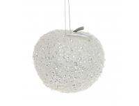 Kuuseehe 9cm sädelev õun valge