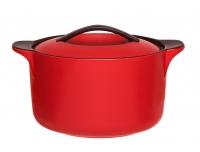 Ahjupott Maku 2,8L keraamiline, punane